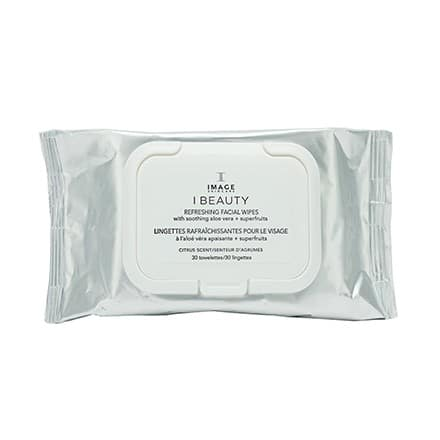 Image Skincare Beauty Refreshing Facial Wipes by Cosmedix